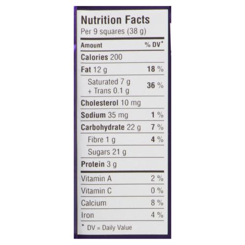 Cadbury Chocolate Bar Dairy Milk 100 g