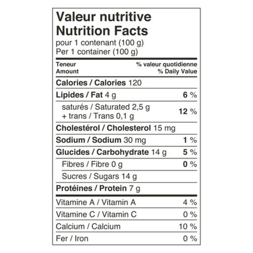 Liberté Extra Creamy 5% Greek Yogurt Vanilla Bean 4 x 100 g