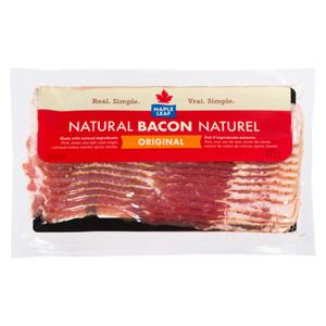 Maple Leaf Original Natural Bacon 375 g