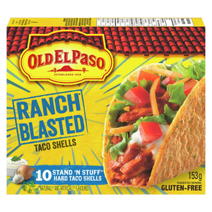 Old El Paso Stand And Stuff Hard Taco Shells Special Edition 153 g