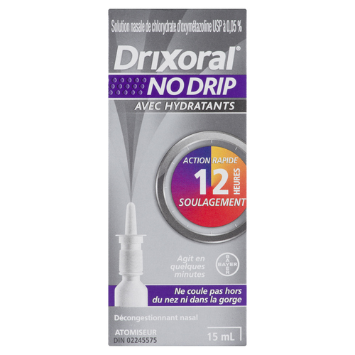 Drixoral Nasal Spray No Drip Extra Moisturizing 15 ml