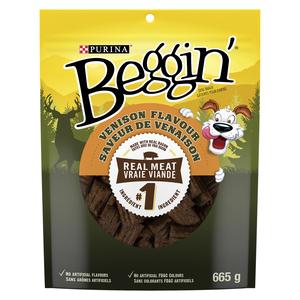 Purina Beggin' Dog Treats Venison Flavour 665 g