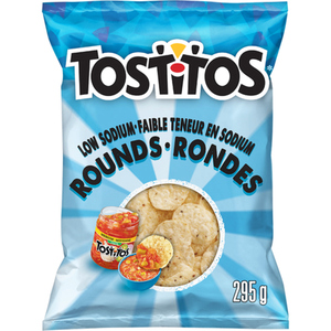 Tostitos Tortilla Chips Low Sodium Rounds 295 g