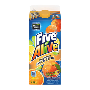 Five Alive Passionate Peach Citrus Juice 1.75L