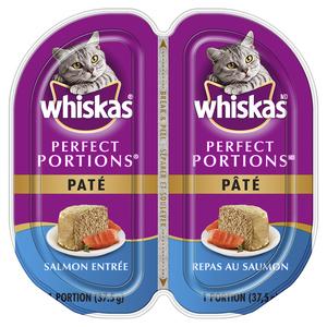 Whiskas Perfect Portions Cat Food Pate Salmon Entrée 75 g