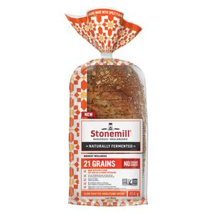 Stonemill 21 Grains Bread Bakehouse Honest Wellness 454 g