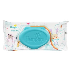 Pampers Sensitive Baby Wipes 56 Sheets