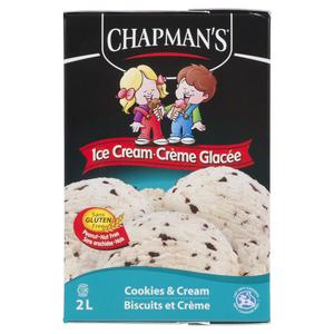 Chapman's Gluten-Free Ice Cream Cookies And Cream 2 L