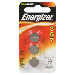 Energizer Watch Batteries 357BPZ3N 3 EA