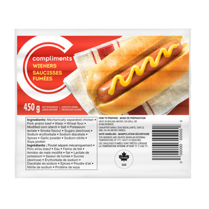 Compliments Wieners 450 g