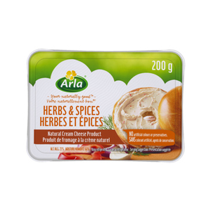 Arla Natural Cream Cheese Herbs & Spices 200 g