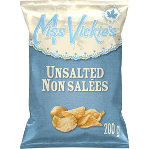Miss Vickie's Potato Chips Unsalted 200 g