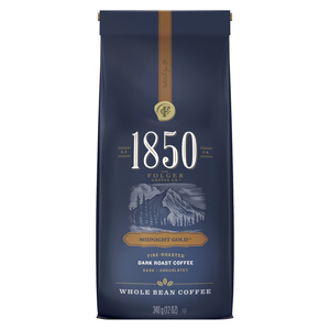 Folgers Coffee Whole Bean Midnight Gold 340 g