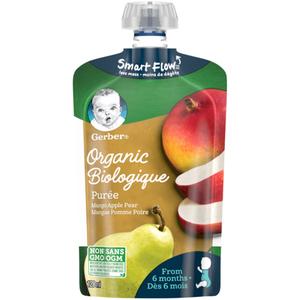 Gerber Organic Purée Mango, Apple & Pear 128 ml