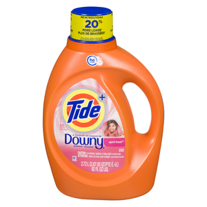 Tide Liquid Laundry Detergent A Touch of Downy 59 Loads 2.72 L
