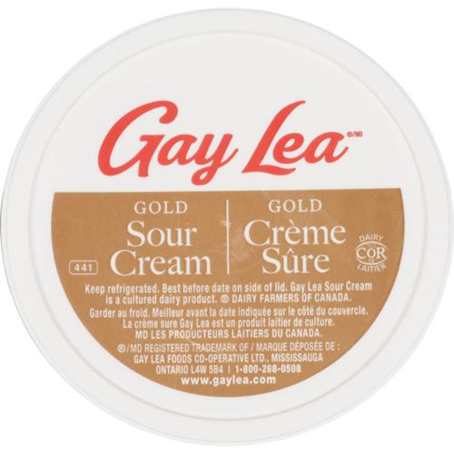 Gay Lea Gold Sour Cream Premium 425 ml