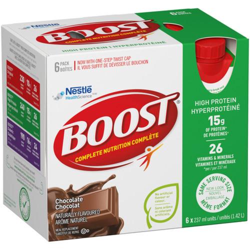 Boost High Protein Powder Chocolate 6 x 237 ml
