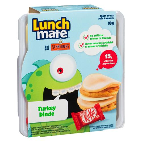 Schneiders Lunch Mate Turkey Lunch Kit 90 g
