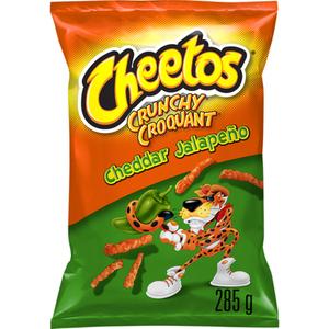 Cheetos Crunchy Cheddar Jalapeno Chips 285 g
