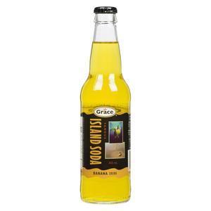 Grace Island Soda Banana Soft Drink 355 ml