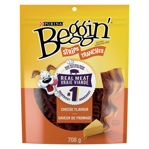 Purina Dog Treats Beggin' Strips Cheese Flavour 708 g