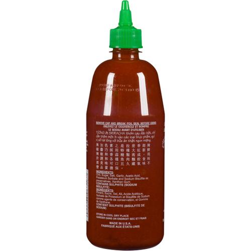 Huy Fong Sriracha Hot Chili Sauce 740 ml