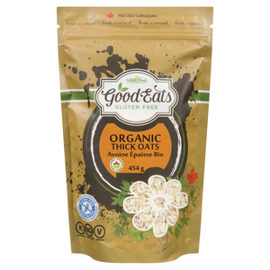 Pilling Foods Organic Gluten-Free Thick Rolled Oats 454 g