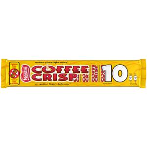 Nestlé Multi-Pack Mini Coffee Crisp Bars 10 x 15 g