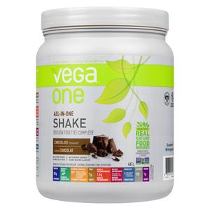 Vega One All-In-One Chocolate Nutritional Shake Powder 438 g