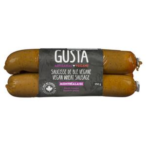 Gusta Vegan Wheat Montrealaise Sausage 350 g