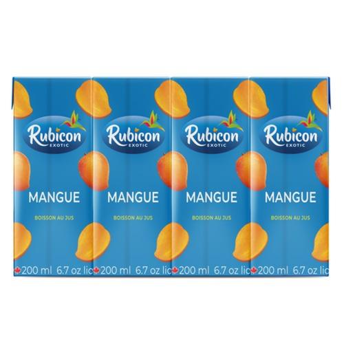 Rubicon Exotic Juice Mango 4 x 200 ml