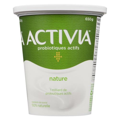 Activia Plain Pure Yogurt 650 g