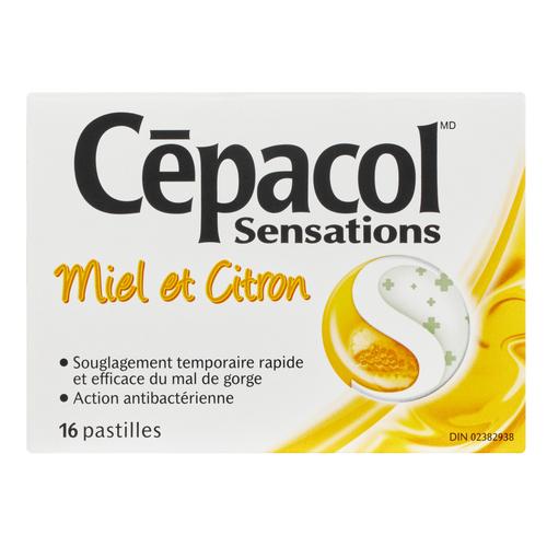Cepacol Lozenges Honey & Lemon 16 EA