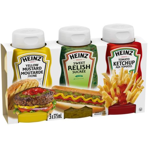 Heinz Condiment Pack 1.125 L