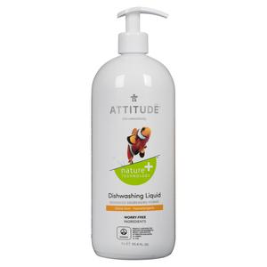 ATTITUDE Nature+ Dishwashing Liquid Citrus Zest 1 L