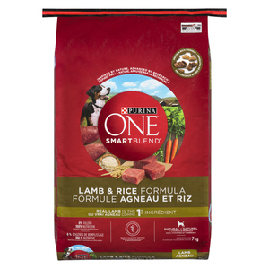 Purina ONE Smart Blend Lamb And Rice Dog Food 7 KG