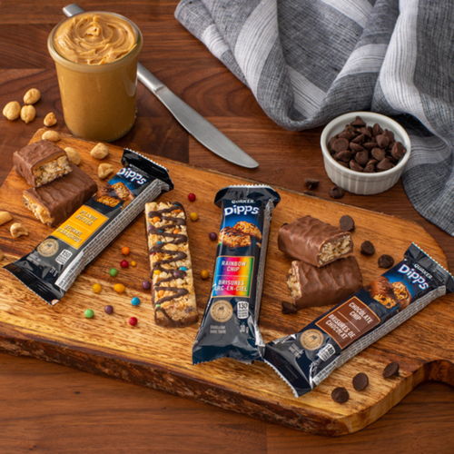 Quaker Dipps Granola Bars Chocolate Chip 156g