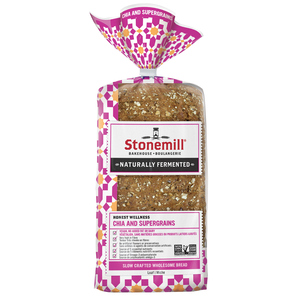 The Stonemill Bakehouse Bread Honest Wellness Chia and Supergrains 454 g