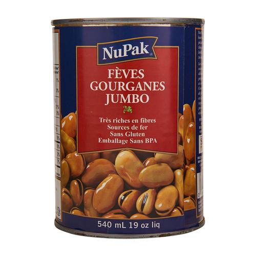 NuPak Jumbo Fava Beans 540 ml