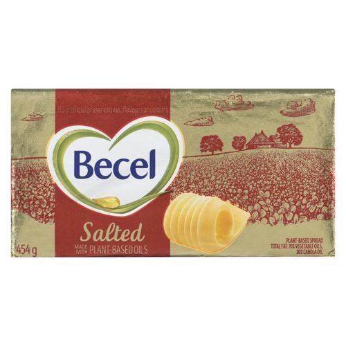 Becel Salted Plant-Based Margarine Bricks 454 g