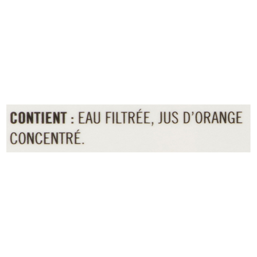 Minute Maid Original 100% Orange Juice From Concentrate 1.75 L
