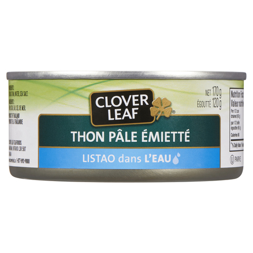 Clover Leaf Flaked Light Tuna Skipjack in Water 170 g