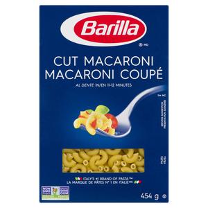 Barilla Pasta Cut Macaroni 454 g