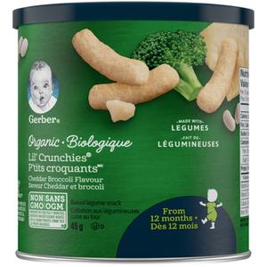 Gerber Organic Broccoli Lil' Crunchies 45 g