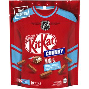 Nestlé Kit Kat Chocolate Bar Minis Chunky Cookies & Cream 170 g