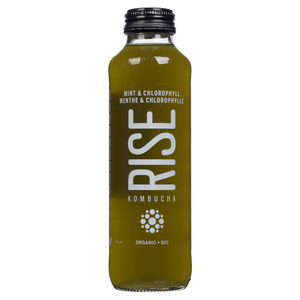 Rise Kombucha Sparkling Mint Chlorophyll Tea 414 mL
