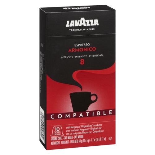 Lavazza Armonico Espresso Nespresso Coffee 10 Capsules