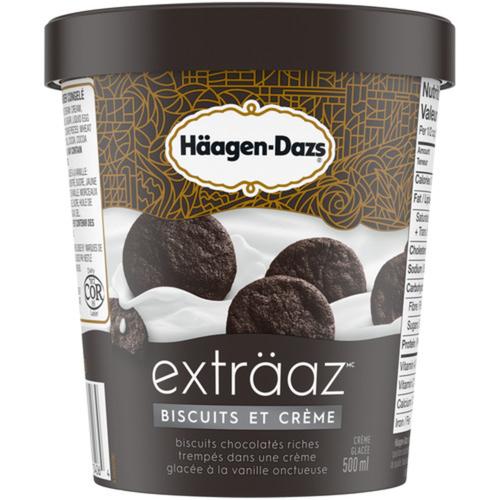 Häagen-Dazs Exträaz Cookies & Cream Ice Cream 500 ml