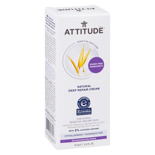 Attitude Natural Deep Repair Cream 75 ml
