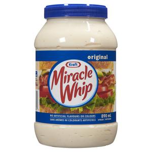 Kraft Miracle Whip Spread Original 890 ml